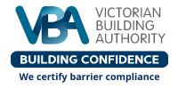 Bursa-VBA-certificates-pool-fence-barrier-compliance-VIC